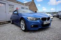 USED 2014 64 BMW 3 SERIES 320d M Sport 2.0TD Step Auto 4dr ( 184 bhp ) Stunning Colour FSH Top Spec M Sport Model Great Fuel Economy
