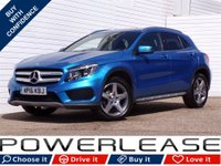 USED 2016 16 MERCEDES-BENZ GLA-CLASS 2.1 GLA 200 D AMG LINE 5d AUTO 134 BHP FSH 20POUNDTAX CAMERA LEATHER