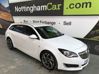 USED 2015 15 VAUXHALL INSIGNIA 2.0 LIMITED EDITION CDTI ECOFLEX S/S 5d 160 BHP