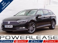 USED 2015 65 VOLKSWAGEN PASSAT 2.0 GT TDI BLUEMOTION TECHNOLOGY 5d 148 BHP FVWSH HEATED LEATHER SAT NAV