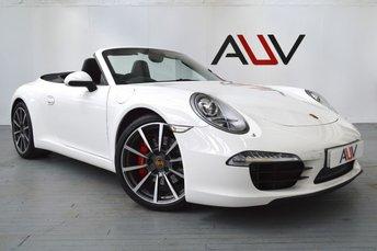 2012 PORSCHE 911 MK 991 3.8 CARRERA S PDK 2d AUTO 400 BHP £59950.00