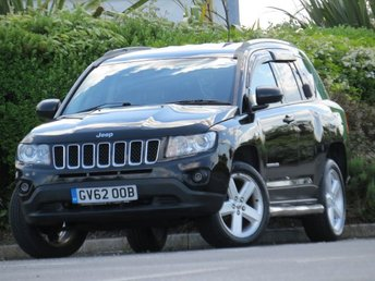 2013 JEEP COMPASS 2.1 CRD LIMITED 4WD 5d 161 BHP £5999.00