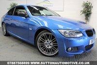 USED 2013 63 BMW 3 SERIES 2.0 320D M SPORT 2d 181 BHP