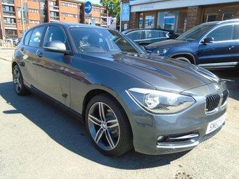 2012 BMW 1 SERIES 1.6 116I SPORT 5d 135 BHP £7749.00