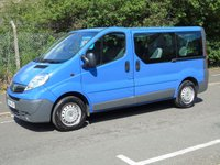 USED 2014 14 VAUXHALL VIVARO 2.0CDTI COMBI 9 SEATER ECOFLEX 5d MPV MINI BUS 1 OWNER+9 SEATER+ TWIN DOORS+