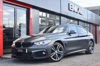 USED 2015 65 BMW 4 SERIES 3.0 435D XDRIVE M SPORT GRAN COUPE 4d 309 BHP M PERFORMANCE*RED LEATHER*PRO NAV*HEATED SEATS*FULL BMW SERVICE HISTORY RECENT SERVICE*X DRIVE READY FOR ALL CONDITIONS*PRIVACY GLASS*EXCELLENT COLOUR*FAST POWERFULL AND COMFORT ARE ALL EQUIPPED WITH THIS CAR*
