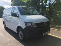 USED 2016 16 VOLKSWAGEN TRANSPORTER 2.0 T28 TDI P/V STARTLINE BMT 1d 101 BHP All Vehicles with minimum 6 months Warranty, Van Ninja Health Check and cannot be beaten on price!