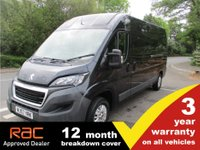 2017 PEUGEOT BOXER 335 L3 H2 Professional 130ps Euro6 Heated Seat, Rear Camera  £12995.00