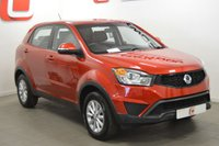 USED 2015 15 SSANGYONG KORANDO 2.0 SE 5d 147 BHP 1 OWNER + TOW BAR + ONLY 24K MILES + STUNNING COLOUR