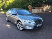 2008 FORD MONDEO 2.0 TITANIUM X 145 5d 144 BHP PLEASE CALL TO VIEW £4450.00