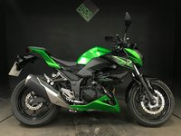 USED 2016 66 KAWASAKI Z300 BFF ABS. 2016. SERVICED. 1602 MILES. H GRIPS. R&Gs. LOVELY