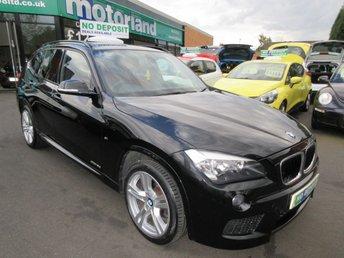 2015 BMW X1 2.0 SDRIVE18D M SPORT 5d AUTO 141 BHP £13000.00