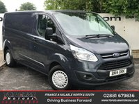 USED 2014 14 FORD TRANSIT CUSTOM  290 125 BHP TREND L2 GENERATOR & COMPRESSOR **OVER 85 VANS IN STOCK**
