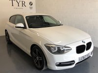 USED 2012 62 BMW 1 SERIES 2.0 116D SPORT 3d 114 BHP