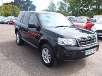 USED 2013 62 LAND ROVER FREELANDER 2.2 TD4 BLACK AND WHITE 5d 150 BHP Great Value 4X4 with low mileage and only 1 previous owner!