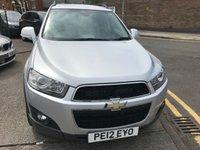 USED 2012 12 CHEVROLET CAPTIVA 2.2 LT VCDI 5d 184 BHP