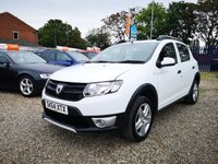 USED 2014 64 DACIA SANDERO 1.5 STEPWAY AMBIANCE DCI 5d  +FULL DEALER SERVICE HISTORY+