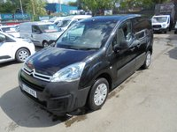 USED 2017 17 CITROEN BERLINGO  625 ENTERPRISE MODEL  HDI DIESEL   METALLIC BLACK !! LOW LOW MILES 21,000 !!   SAT NAV AIR CON BLUE TOOTH ELECTRIC PACK   !! NO VAT !!     LOW MILES ENTERPRISE MODEL 2017 YEAR  !! NO VAT !!