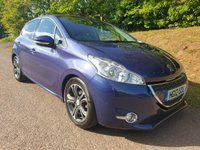 USED 2012 12 PEUGEOT 208 1.6 ALLURE E-HDI 5d 92 BHP **£0 ROAD FUND**FULL HISTORY**SUPERB DRIVE**
