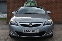 USED 2012 12 VAUXHALL ASTRA 1.4 SRI 5d 98 BHP WE OFFER FINANCE ON THIS CAR