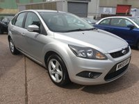 USED 2010 59 FORD FOCUS 1.8 ZETEC 5d 125 BHP **SUPERB DRIVE**2 OWNERS**LOVELY CONDITION**