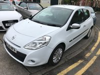 USED 2010 10 RENAULT CLIO 1.1 I-MUSIC 16V 3d 74 BHP