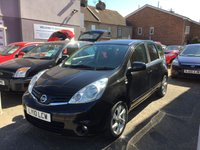 USED 2010 10 NISSAN NOTE 1.5 N-TEC DCI 5d 86 BHP TWO OWNERS + SERVICE HISTORY 6 STAMPS !!