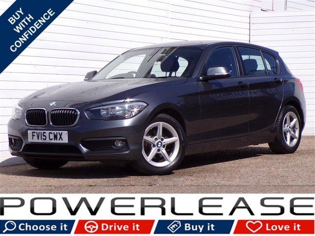 USED 2015 15 BMW 1 SERIES 1.5 116D ED PLUS 5d 114 BHP SAT NAV DAB BLUETOOTH PSENSORS