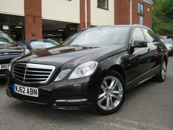 2012 MERCEDES-BENZ E CLASS 2.1 E220 CDI BLUEEFFICIENCY EXECUTIVE SE 4d 170 BHP £8495.00