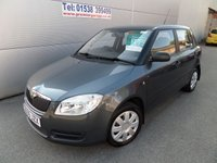 USED 2009 09 SKODA FABIA 1.2 LEVEL 1 HTP 5d 59 BHP 75000 MILES VERY CLEAN ELEC PACK