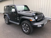 2018 JEEP WRANGLER 2.0 GME OVERLAND AUTO 269 BHP SWB, ONE OFF WHITE LEATHER! £39995.00