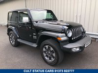 USED 2018 68 JEEP WRANGLER 2.0 GME OVERLAND AUTO 269 BHP SWB, ONE OFF WHITE LEATHER! 1 PRIVATE OWNER, ONE OFF WHITE LEATHER TRIM!