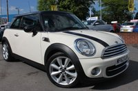 USED 2012 62 MINI HATCH COOPER 1.6 COOPER 3d 122 BHP 6 SERVICE STAMPS - 2 OWNERS - 17'' ALLOY WHEELS - BLUETOOTH