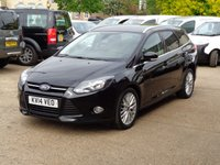 USED 2014 14 FORD FOCUS 1.6 ZETEC TDCI 5d 113 BHP full service history 1 owner