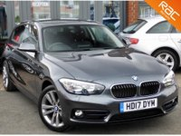 USED 2017 17 BMW 1 SERIES 1.5 116D SPORT 3d 114 BHP
