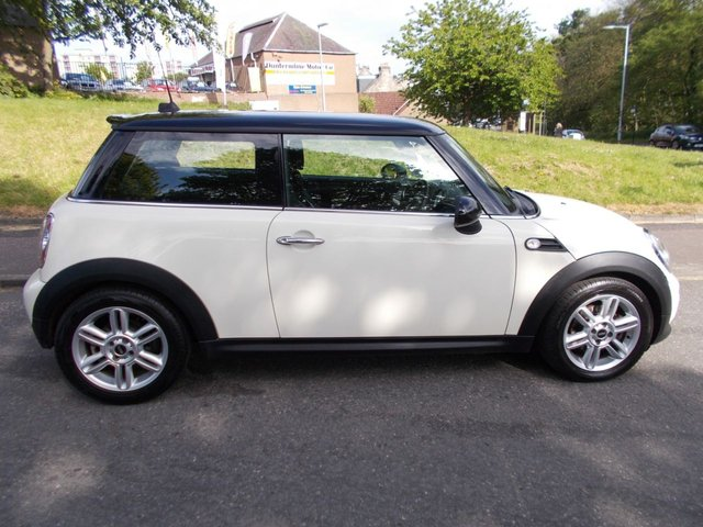 USED 2013 63 MINI HATCH COOPER 1.6 COOPER 3d 122 BHP ++SERVICE HISTORY+CAR COMES WITH A FREE 6 MONTHS BREAKDOWN COVER++