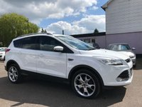 USED 2014 64 FORD KUGA 2.0 TDCI TITANIUM X 5d 148 BHP WITH FORD SERVICE HISTORY NO DEPOSIT PCP/ECP/HP FINANCE ARRANGED, APPLY HERE NOW
