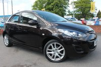 USED 2012 61 MAZDA 2 1.3 TAMURA 5d 83 BHP RARE COLOUR - LOW MILES- JUST ONE OWNER FROM NEW - SUPER RELIABLE MAZDA QUALITY