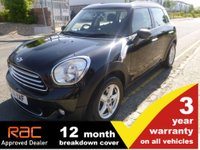 USED 2011 61 MINI COUNTRYMAN 1.6 ONE 5d 100ps (PEPPER PACK)
