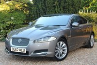 USED 2013 62 JAGUAR XF 2.2 D PREMIUM LUXURY 4d AUTO 200 BHP