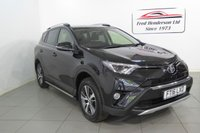 USED 2016 16 TOYOTA RAV4 2.0 D-4D BUSINESS EDITION 5d 143 BHP This vehicle has recently come into our stock and benefits from a full service history. The vehicle has had one owner from new and it will come serviced with an MOT, so trouble free motoring for the year ahead Black metallic with alloy wheels ,Colour  Satellite navigating ,rear camera Fantastic car in great condition ,this car should be view to be realy appreciated.