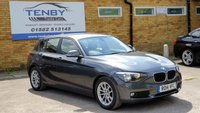 2014 BMW 1 SERIES 1.6 116D EFFICIENTDYNAMICS BUSINESS 5d 114 BHP £9984.00