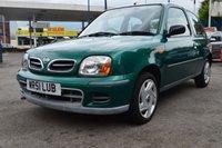 2001 NISSAN MICRA 1.0 S 3d AUTO 59 BHP £1350.00