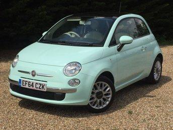 2015 FIAT 500 1.2 LOUNGE 3d 69 BHP £5850.00