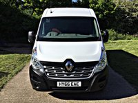 USED 2016 66 RENAULT MASTER 2.3 LM35 BUSINESS PLUS DCI S/R P/V 1d 125 BHP EURO 6 EURO 6, ULEZ COMPLIANT