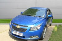 USED 2010 10 CHEVROLET CRUZE 1.6 LS 4d AUTO 111 BHP AUTOMATIC, AIR CON, FINANCE ME TODAY-UK DELIVERY POSSIBLE