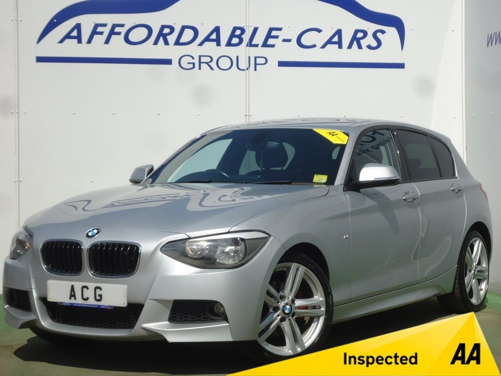 USED 2014 64 BMW 1 SERIES 2.0 116D M SPORT 5d 114 BHP