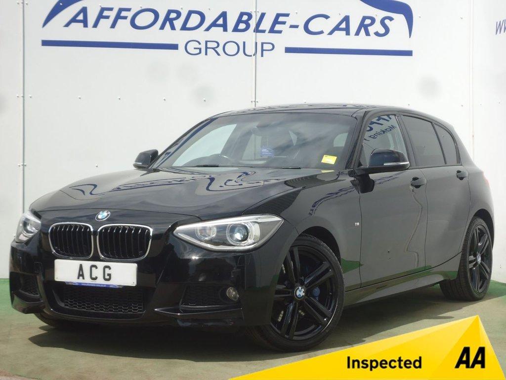 USED 2015 15 BMW 1 SERIES 2.0 116D M SPORT 5d AUTO 114 BHP