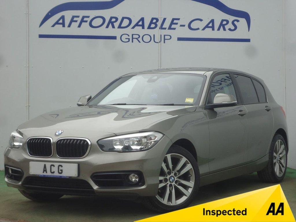 USED 2017 17 BMW 1 SERIES 2.0 118D SPORT 5d AUTO 147 BHP