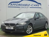 USED 2015 65 BMW 5 SERIES 3.0 530D SE 4d AUTO 255 BHP